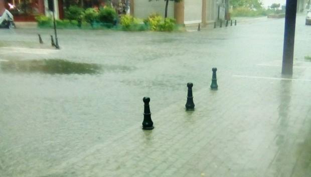 Πλημμύρισαν περιοχές στα πεδινά της Ημαθίας