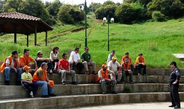 Περιπολίες Πολιτικής Προστασίας στην Καστανιά Ημαθίας